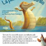 La pelle del Coccodrillo, lettura e laboratorio il 4 marzo