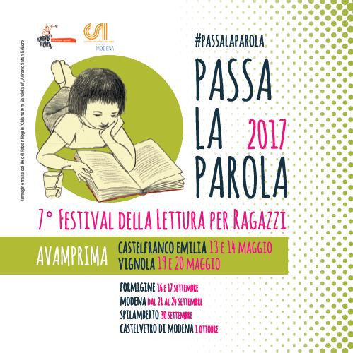 A Vignola il Festival arriva il 19 e 20 maggio