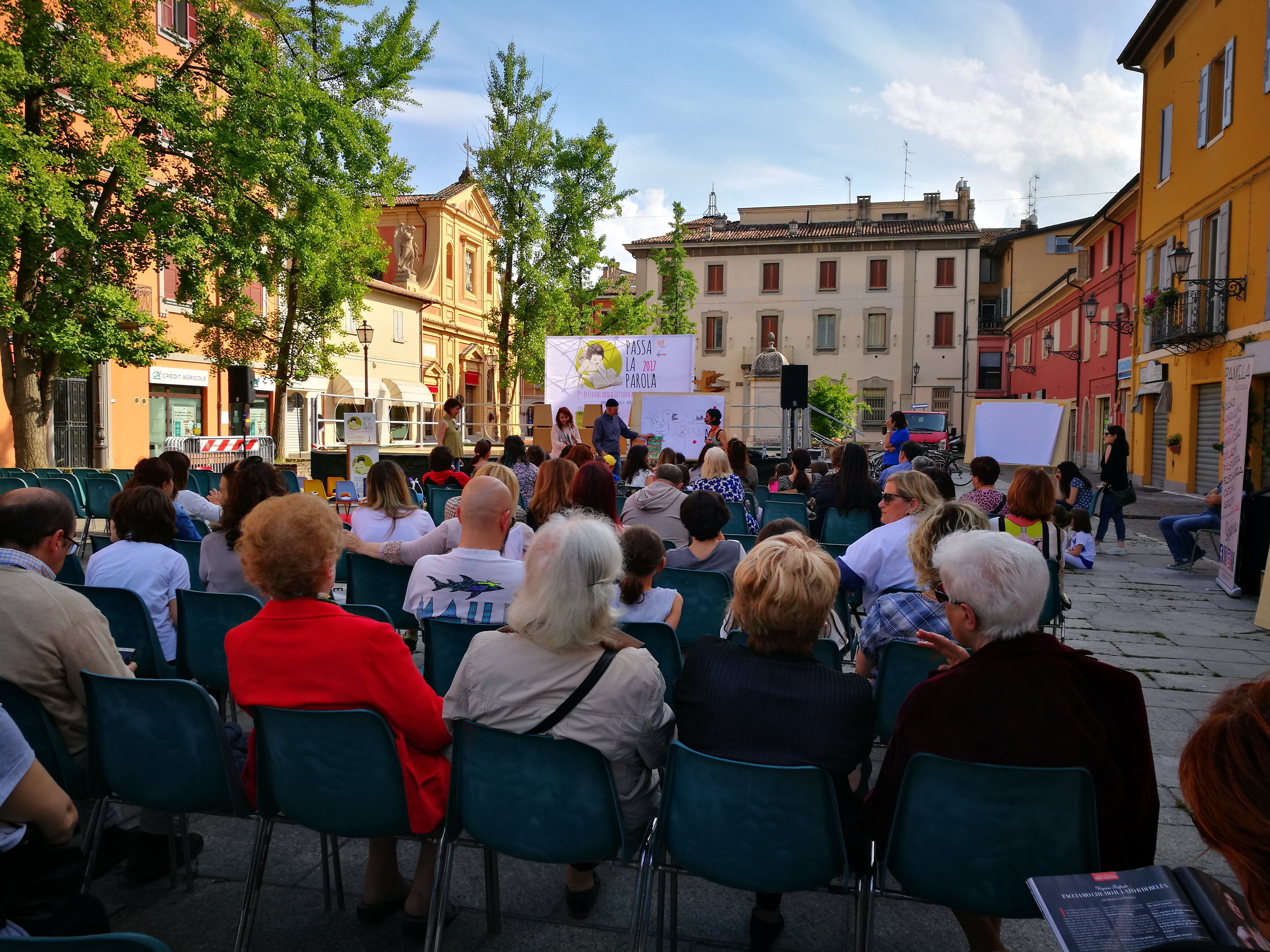 Il 13 e 14 maggio Passa la Parola apre a Castelfranco Emilia